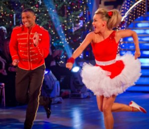 Strictly Come Dancing 2012 xmas special winners - Ola & JB