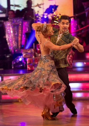 Strictly Come Dancing 2014 xmas special winners - Aliona & Louis
