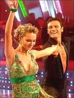 Sport Relief Does Strictly Come Dancing winners - Mark & Kara