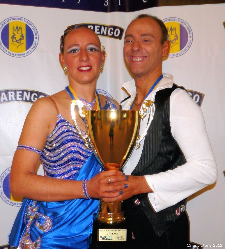 WDC Al World 10 Dance Championship Runners Up 2012